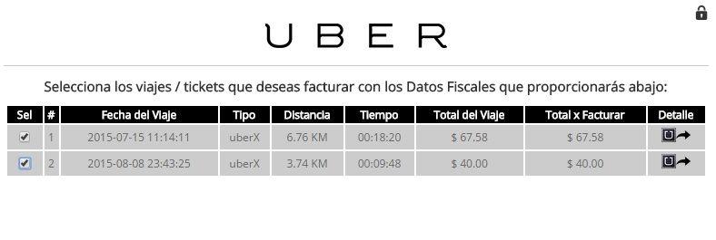 CFDI-Uber