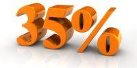 ISR 35 por ciento