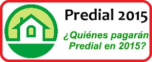 Predial 2015