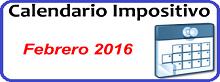 Calendario de Impuestos de Enero 2016 en México