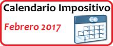 Calendario de Impuestos de febrero 2017 en México