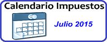 Calendario de Impuestos de Julio 2015 en México