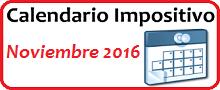Calendario de Impuestos de noviembre 2016 en México
