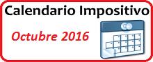 Calendario de Impuestos de octubre 2016 en México