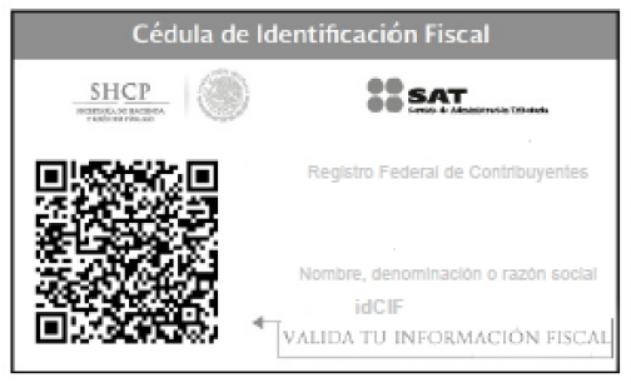 cedula identificacion fiscal cbb