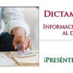 Dictamen Fiscal 2012: Se presenta en 2013