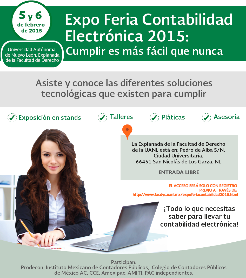 expo feria contabilidad electronica 2015
