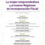 Foro Mujer Emprendedora y Régimen de Incorporación Fiscal