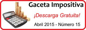 Gaceta Fiscal Abril 2015