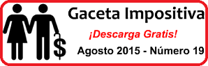 Gaceta Fiscal Agosto 2015