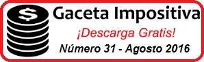Gaceta Fiscal Agosto 2016