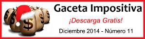 Gaceta Fiscal Diciembre 2014