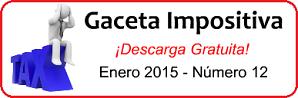 Gaceta Fiscal Enero 2015