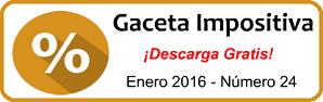 Gaceta Fiscal Enero 2016