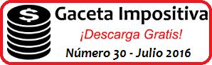 Gaceta Fiscal Julio 2016