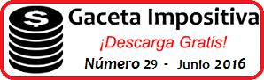 Gaceta Fiscal Junio 2016