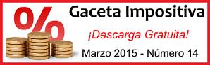 Gaceta Fiscal Marzo 2015