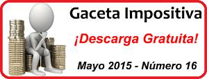 Gaceta Fiscal Mayo 2015