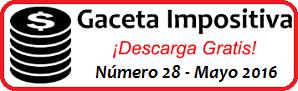 Gaceta Fiscal Mayo 2016