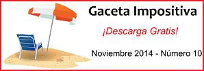 Gaceta Fiscal Noviembre 2014