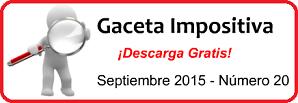 Gaceta Fiscal Septiembre 2015