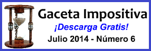 Gaceta Fiscal Julio 2014