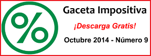 Gaceta Fiscal Octubre 2014