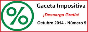 Gaceta Fiscal Octubre 2014