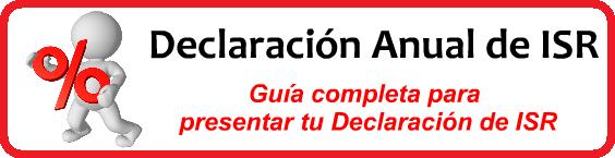 Declaración Anual ISR