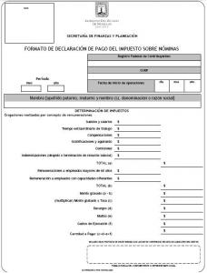 Formato 2 Nomina Los Impuestos