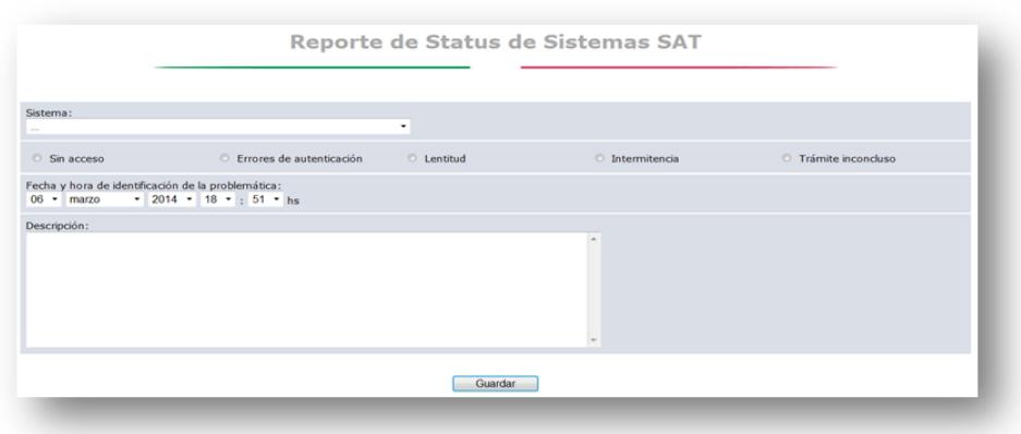 reporte sat 4