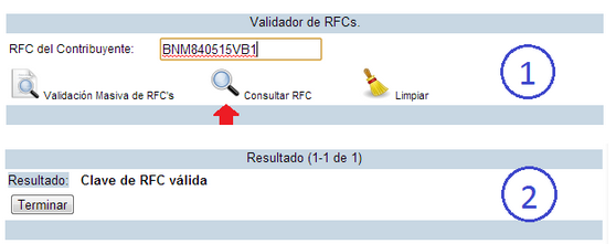 rfc valida