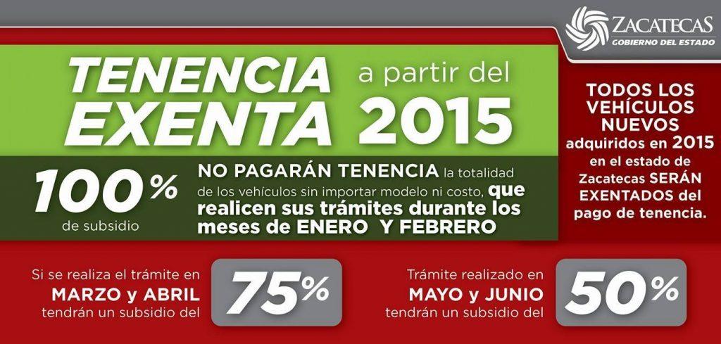 tenencia zacatecas 2015